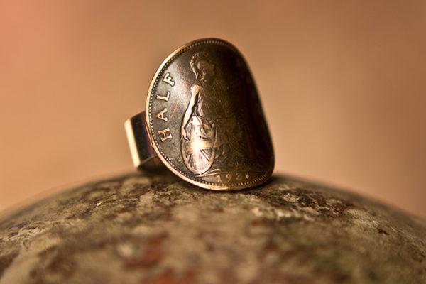 Half Penny Ring