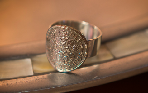 Sixpence Ring