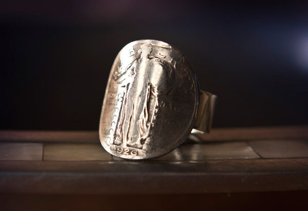Standing Liberty Ring