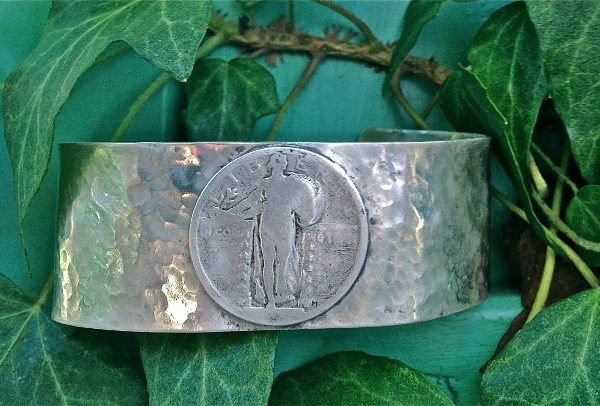 Standing Liberty Sterling Cuff