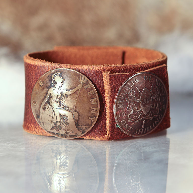 Two Coin Cuff