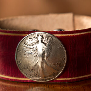 Walking Liberty Cuff