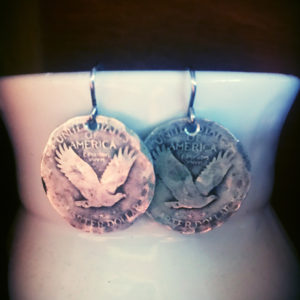 US Quarter Earrings