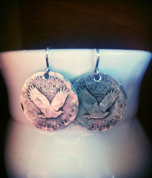 US Quarter Earrings