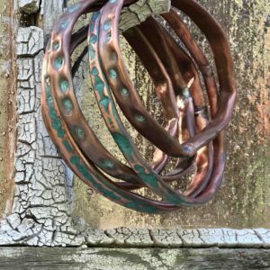 Copper Patina Bangles