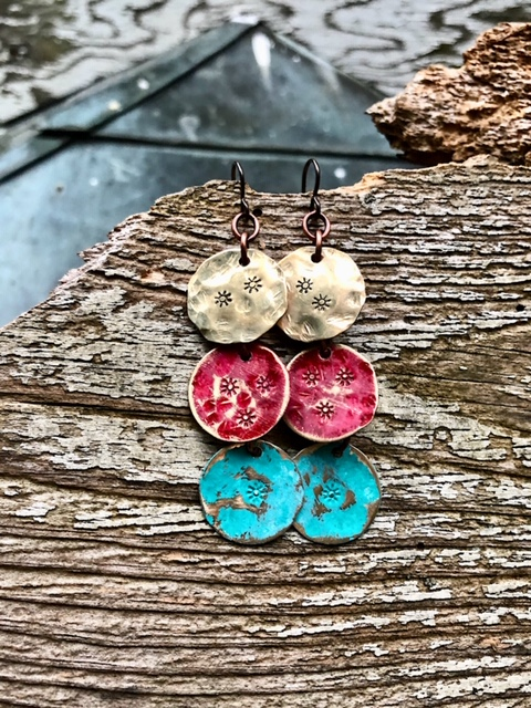 Rising Sun Earrings