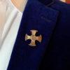 Canterbury Cross Lapel Pin