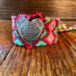 Woven Heart Cuff
