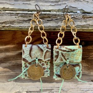 Mini Purse Earrings